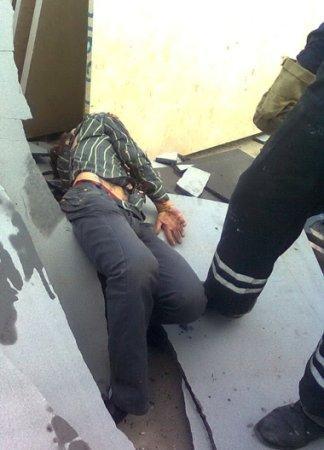 Тело с трудом извлекли из-под груды плит в Киевском магазине