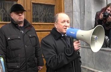 На встрече Василия Варцабы с участниками акций протеста