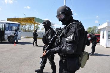 група Анитерористичного центру провела планове тактико-спеціальне навчання