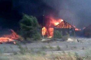 В Мукачевском районе пожар унес жизнь 25-летнего парня