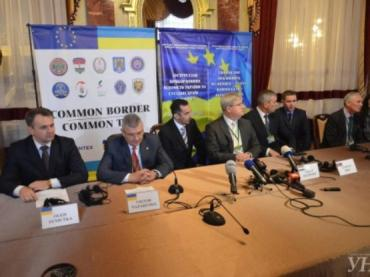 Совместная встреча глав ведомств Украины и соседних стран ЕС