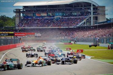 В новой версии расписания Формулы-1 отсутствует Гран-при Германии