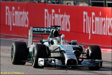 На стартовом поле Гран При США 2014 года было лишь 17 машин