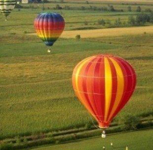 Над Хортицей летают воздушные шары