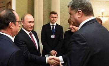 Названы четыре пункта разногласий Порошенко и Путина в Минске