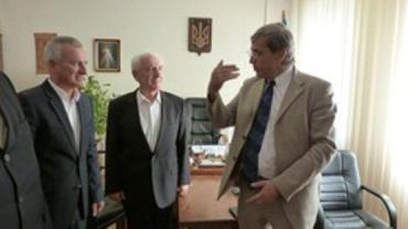 Представитель ООН Андрисек встретился в Ужгороде с Михайлишином