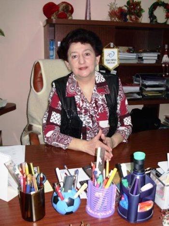 Директор ужгородської школи-інтернату Наталя Бушко