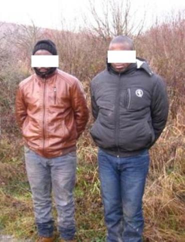 На границе Закарпатья задержали путешественников из Камеруна