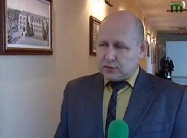 Заседание Ученого совета возглавил сам Владимир Смоланка