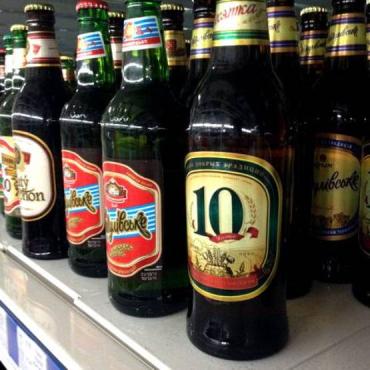 """На прилавках супермаркета """"Сильпо"""" продают пиво из """"РФ, Крым"""""""
