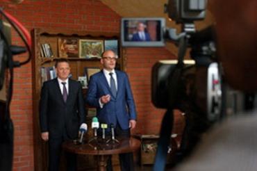 Александр Ледида и Олег Проскуряков решили побеседовать