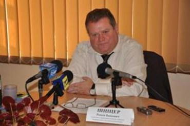 Роман Шницер провел в Ужгороде брифинг по здравоохранению