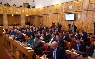 Главным вопросом на повестке дня было принятие бюджета на 2016 год