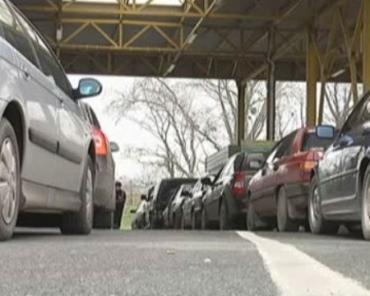 В Европу через Закарпатье нескончаемый поток машин