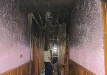 Благодаря своей оперативности бойцы ДСНС спасли жилой дом от полного уничтожения