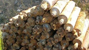 На Закарпатье грибник нашел склад реактивных снарядов