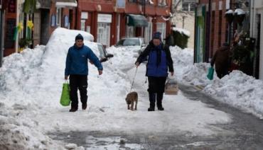 Снег до конца недели будет идти по всей Великобритании