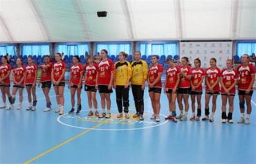 Тур Чемпионата Украины по гандболу среди женских команд Суперлиги в Броварах