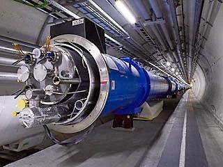 Большой адронный коллайдер запустят в ноябре