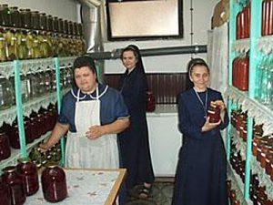 Монастир сестер–служебниць сміливо можна назвати маленькою Україною