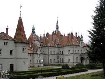 Дворец Шенборнов на Закарпатье
