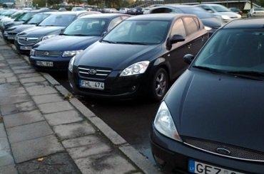 Украину заполонили авто на иностранных номерах