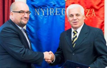 Мэр венгерского города Ньиредьхаза встретился с главой Общества KMKSZ