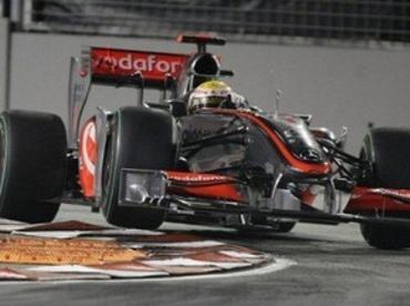 Гран При Сингапура. Поул достался Льюису Хэмилтону