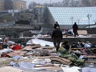 """Погром палаточного городка на Майдане навесили на """"Щит"""""""