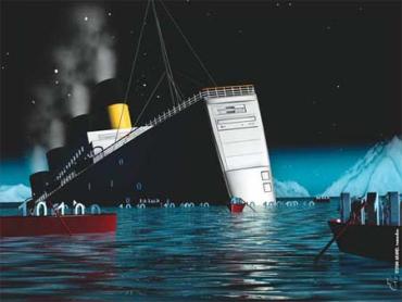 Сколько стоит последнее место в шлюпке на Титанике?