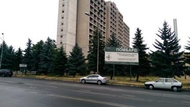 В Ужгороде часть сквера отдали под индивидуальную застройку
