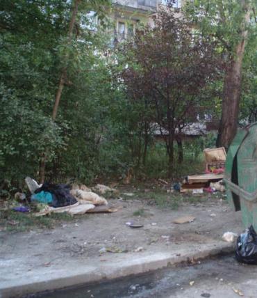 В Ужгороде мусор не собирают месяцами