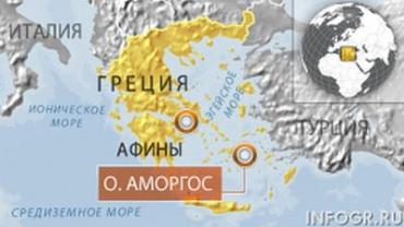 Сухогруз с украинцами на борту потопил греческое судно