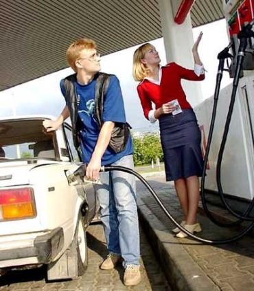 Цены на бензин на трассе Чоп-Киев экономически необоснованные
