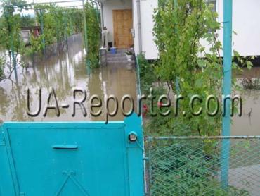 В Закарпатье от наводнения больше всех пострадали жители Мукачевского района