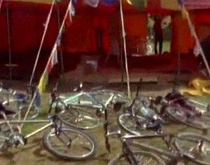 Англичане протестировали педальный кинотеатр