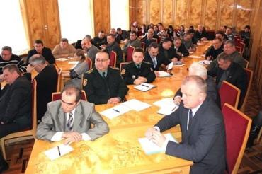 На зустрічі з активом ветеранських організацій в Ужгороді