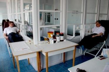 60 % работников Чопской таможни Миндоходов сдадут кровь