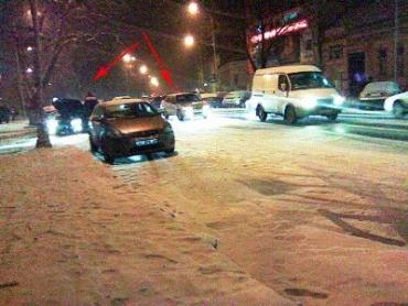 В Ужгороде много пробок из-за неочищенных дорог