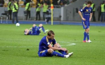 Позор украинцев на «Олимпийском» смотрела вся страна !!!