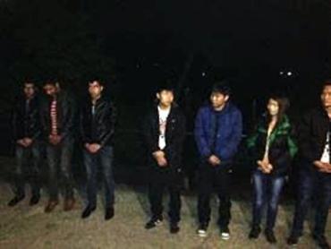 Пятеро вьетнамцев и трое афганцев задержаны на границе с ЕС
