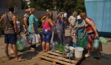 В Луганске установлен лимит на воду: не более 5 л в руки и только раз в 10 дней