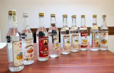 В Закарпатском крае участились случаи торговли алкогольного фальсификата