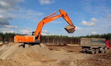 В Ужгородском лесничестве военные незаконно добывали полезные ископаемые