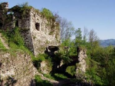От этой достопримечательности Закарпатья остались лишь руины