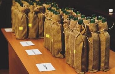 В большом зале Мукачевского горсовета состоялась дегустация вин