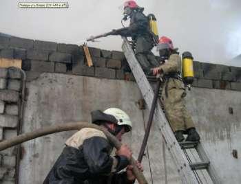 На Закарпатье, в Перечине службы МНС ликвидировали серьезный пожар