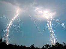 в УВ Ужгороді очікується хмарно з проясненнями, короткочасний дощ, гроза
