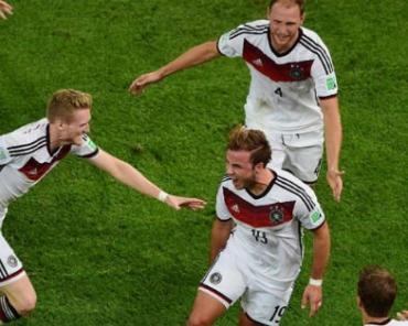 Гол Гетце принес Германии победу над Аргентиной