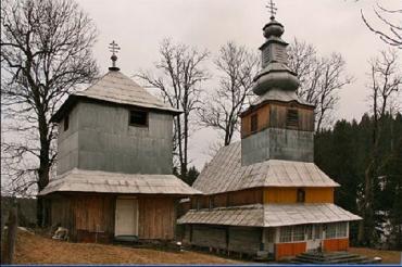Церква в селі Подобовець Міжгірського району Закарпаття